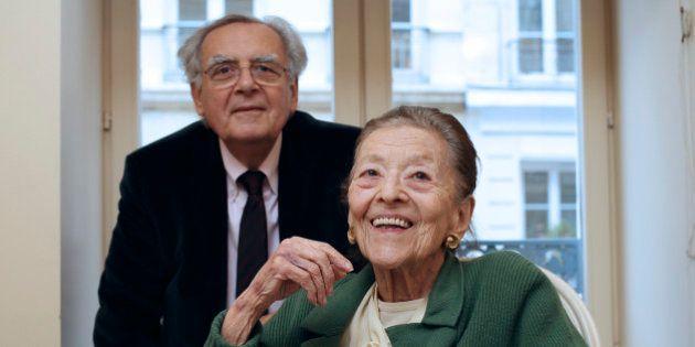 La romancière Edmonde Charles-Roux, prix Goncourt en 1966, est