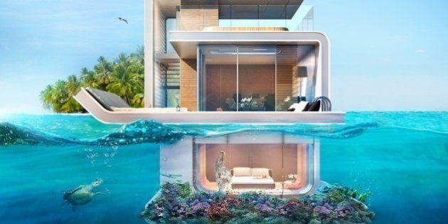 Architecture : La maison à moitié sous l'eau