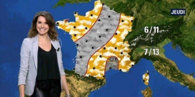 Arrêt forcé pour Fanny Agostini, miss météo de BFMTV, après un accident de