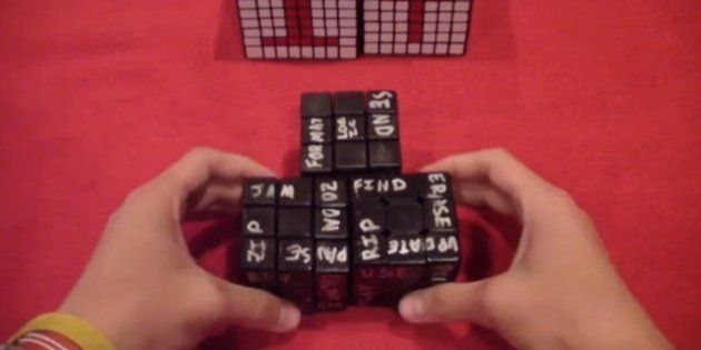 VIDÉO. Des Rubik's Cube sur les tubes de Daft