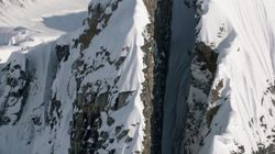 La descente à ski la plus extrême de tous les