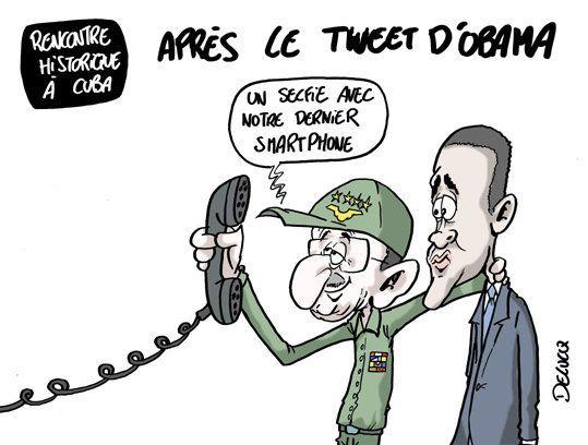 Obama à Cuba et sur