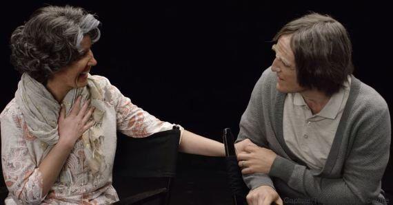 VIDEO. Un jeune couple se fait vieillir grâce au maquillage et se projette dans le