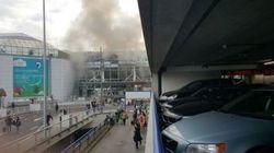 Une double explosion frappe l'aéroport Zaventem à