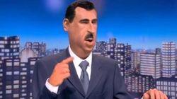 el-Assad fait la même blague que les