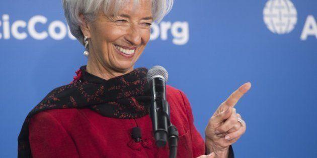 Christine Lagarde s'est déclarée candidate pour un second mandat à la tête du FMI (et c'est bien
