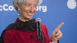 Lagarde candidate pour un 2e mandat au FMI (et c'est bien