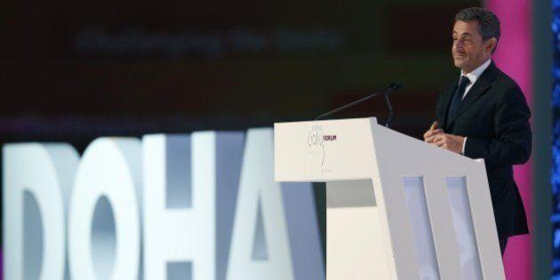Nicolas Sarkozy au Qatar pour sa première conférence payée en tant que président de
