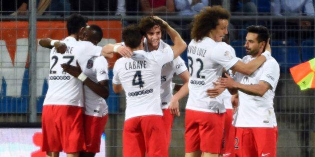 Le PSG champion de France 2014-2015 de la Ligue 1 de