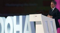 Nicolas Sarkozy au Qatar pour sa première conférence payée depuis son élection à