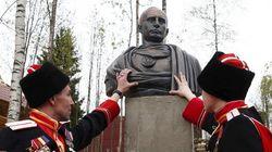 Un buste de Poutine dévoilé en