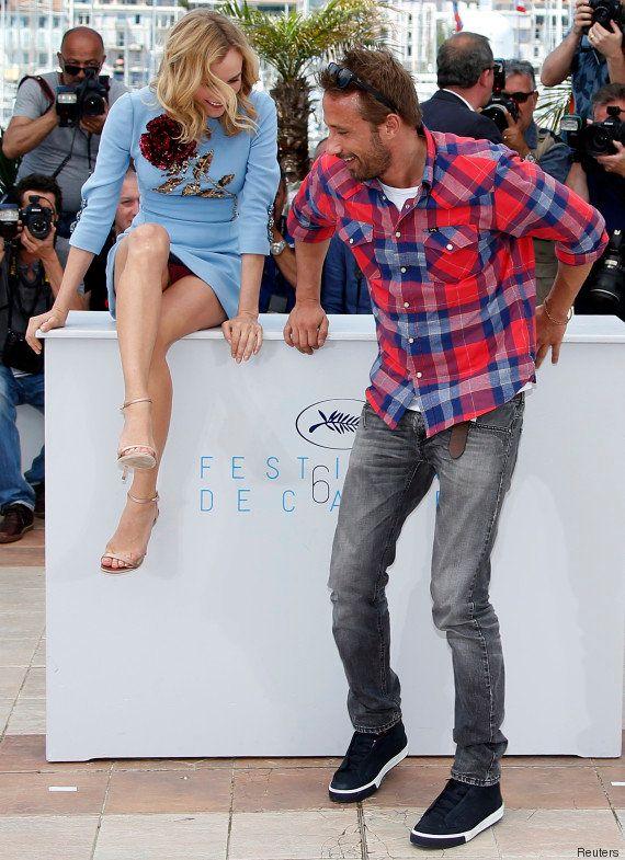 PHOTOS. Diane Kruger dévoile sa culotte (accidentellement) lors d'une séance photo avec Matthias