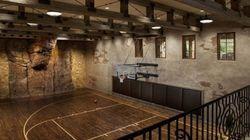 16 terrains de basket (de luxe) dans des maisons de