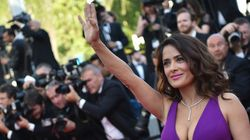 Salma Hayek, Benicio del Toro... la montée des marches en