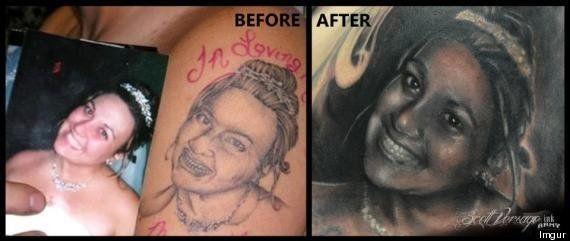 Au Mondial Du Tatouage Soyez Prudents Les Tatouages Rates Ca N Arrive Pas Qu Aux Autres Le Huffington Post Life