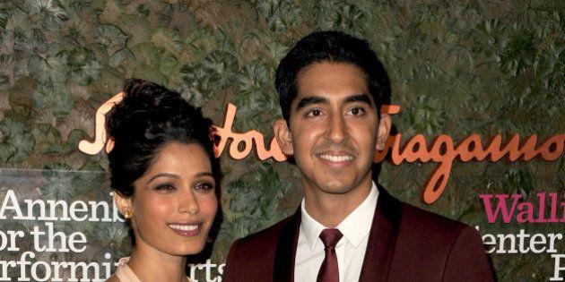 Freida Pinto et Dev Patel, les deux stars de