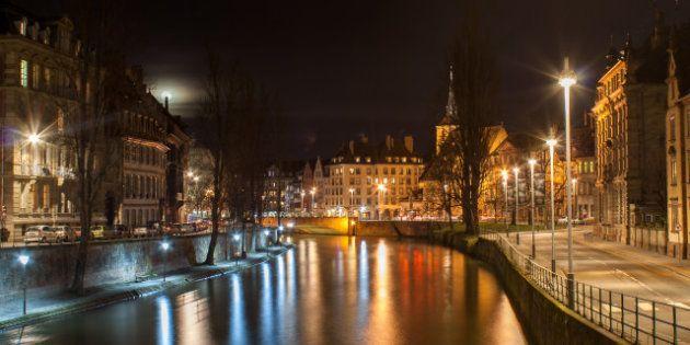 ill river in strasbourg