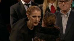 Des centaines d'anonymes ont présenté leurs condoléances à Céline