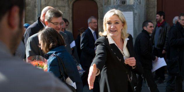 Elections départementales 2015: Marine Le Pen en Picardie, l'autre fief du parti d'extrême