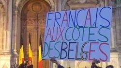 Tour Eiffel, Hôtel de ville... Paris solidaire de Bruxelles après les