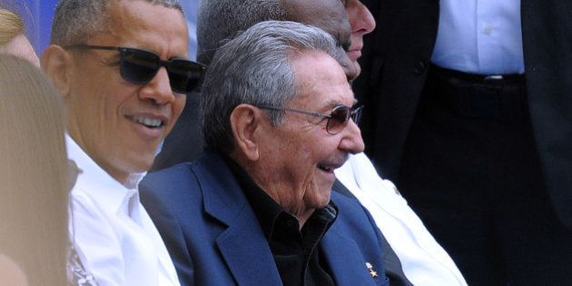 VIDEO. Barack Obama et Raul Castro font la