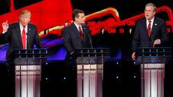 Entre Donald Trump et Ted Cruz, Jeb Bush a