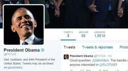 En une nuit, Obama prend plus de followers que Hollande en 6