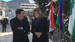 Alexis Tsipras partage avec Arianna Huffington ses espoirs sur l'avenir de la
