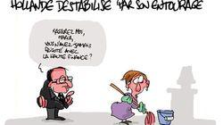 Hollande déstabilisé par son