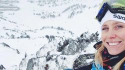 La snowboardeuse survivante de