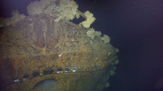 VIDÉO. L'épave du plus vieux navire de la Seconde Guerre Mondiale, le Musashi, a été