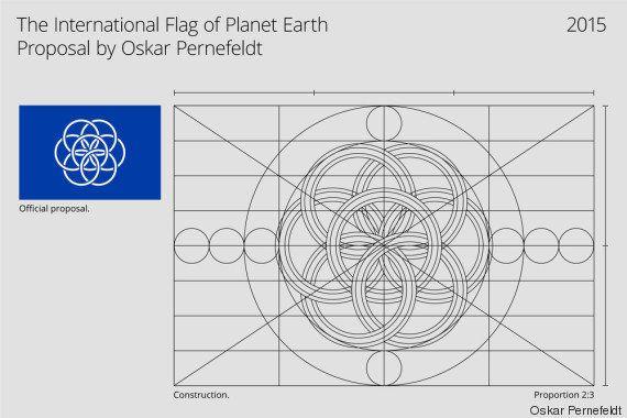 PHOTOS. Si la Terre avait son drapeau, il ressemblerait sans doute à