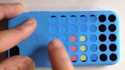 L'appli qui utilise la coque de l'iPhone 5c pour jouer au Puissance