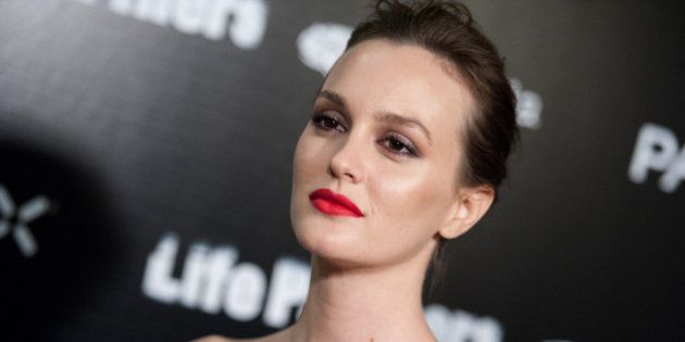 Leighton Meester arrives at the LA Special Screening