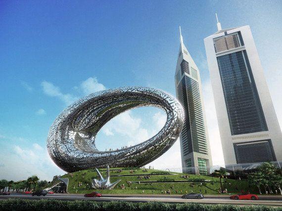 VIDÉO. Dubaï s'offre un musée futuriste pour