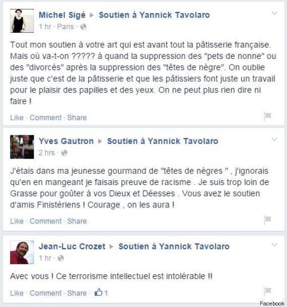 PHOTO. Accusé de racisme pour ses pâtisseries en chocolat, Yannick Tavolaro va porter plainte contre...