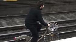 Placé en garde à vue pour avoir fait du Vélib' sur les rails du