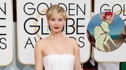 La robe de Jennifer Lawrence détournée et