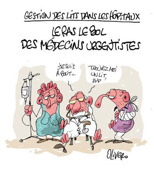 Médecins urgentistes: il y a