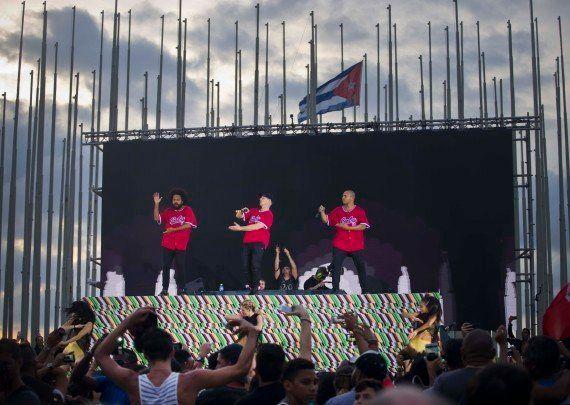 Le premier gros concert capitaliste à Cuba a déjà eu lieu (et ça n'est pas celui des Rolling