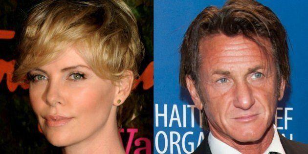 Sean Penn et Charlize Theron officialisent leur relation lors d'un gala de