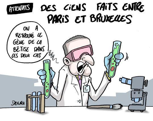 Attentats: quel lien entre Paris et