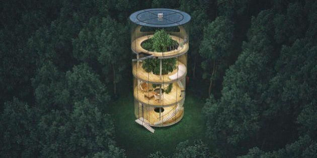 Cette incroyable maison écologique va vous donner envie de partir vivre dans les