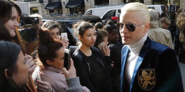 PHOTOS. Jared Leto s'est teint les cheveux en blond
