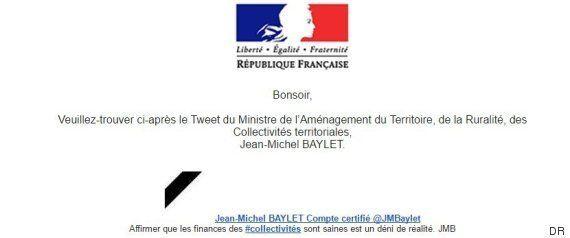 Jean-Michel Baylet invente le communiqué de presse pour annoncer un