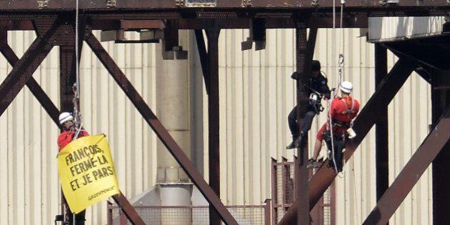 Nucléaire: 29 militants de Greenpeace jugés pour leur intrusion dans la centrale nucléaire de Tricastin...