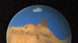 Sur Mars, il y a eu un océan aussi grand que