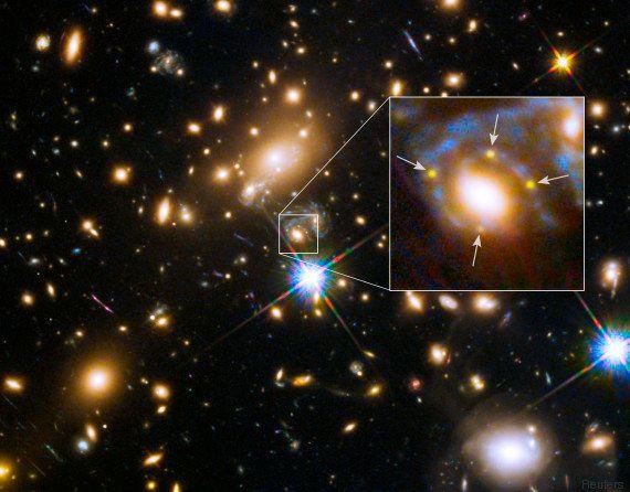 Supernova: une prédiction d'Einstein vérifiée par hasard pour la première fois par des