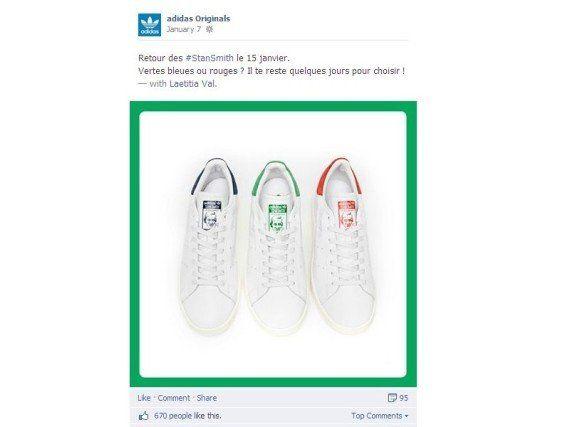 PHOTOS. Stan Smith d'Adidas: le vrai-faux retour orchestré pour reconquérir le coeur de fans
