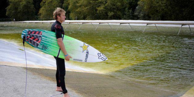 Jeux olympiques : le surf nouvelle discipline grâce à une piscine à